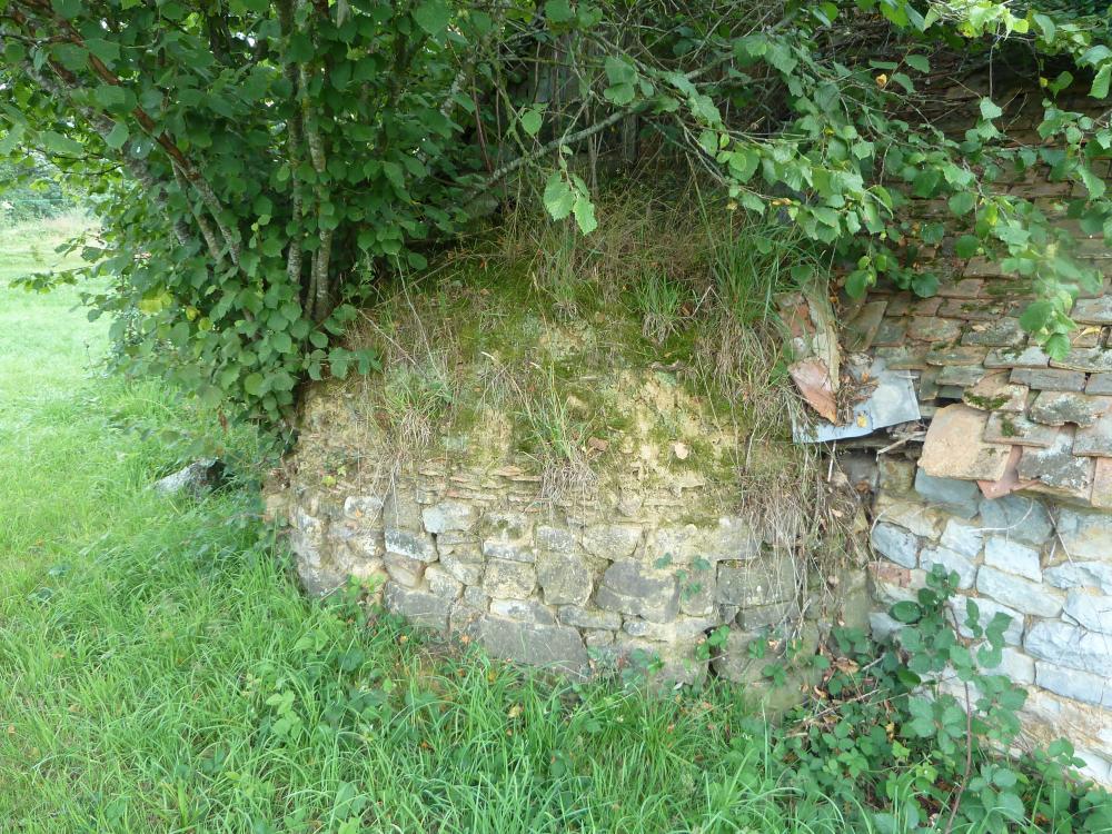 29 juillet 2011, un four à l'abandon dans les parages de la Chaslerie.