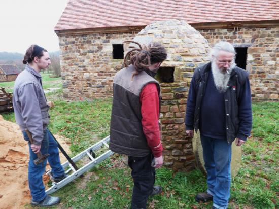 21 décembre 2011, l'équipe de Roland FORNARI à pied d'œuvre en début d'après-midi.