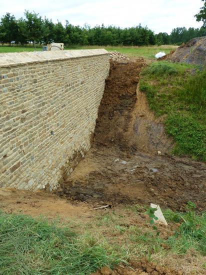 5 juillet 2012, le chantier en milieu d'après-midi.