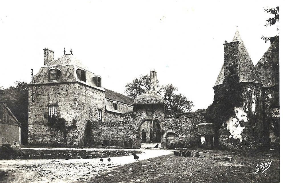 La Chaslerie à la fin de la première moitié du siècle dernier.