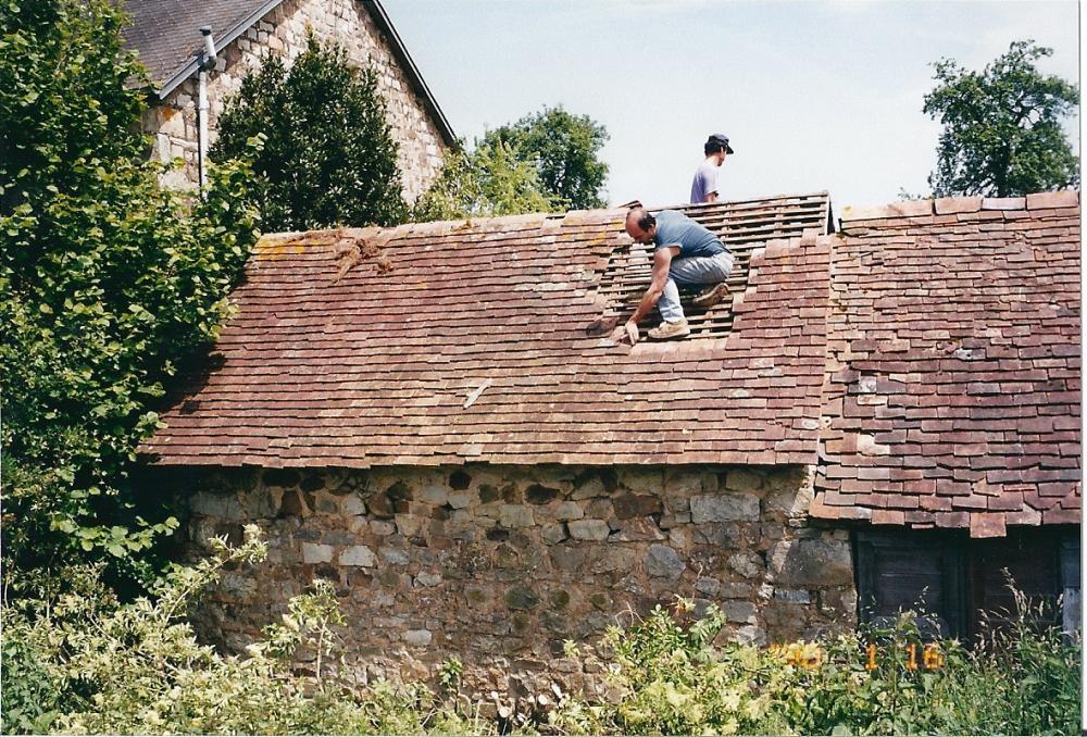 Juin 1999, début du démontage des poulaillers.