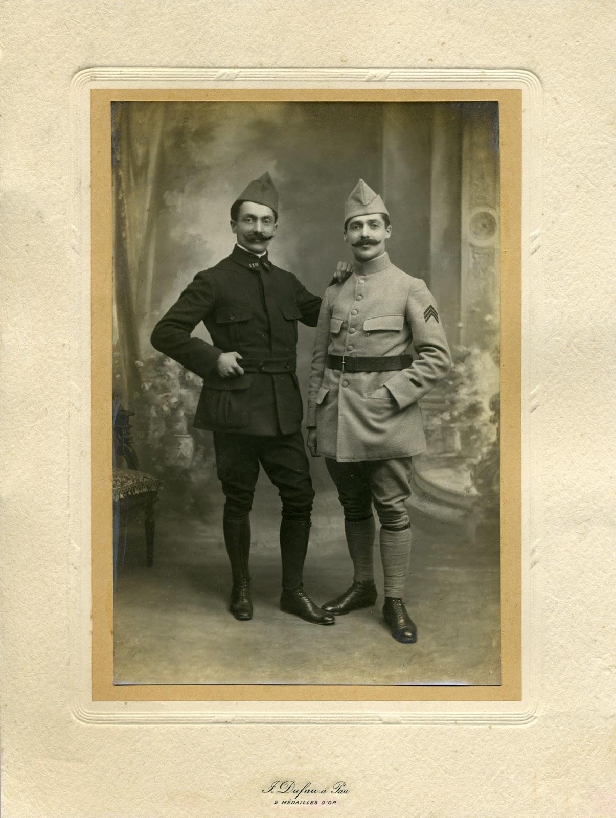 Joseph et Jean FOURCADE.