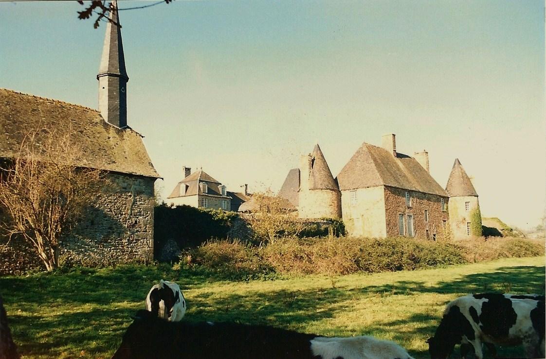 Lierres, ronces et vaches à l'assaut du manoir en 1991