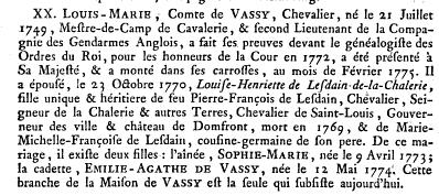 Dictionnaire de la noblesse par François-Alexandre Aubert de la Chesnaye des Bois