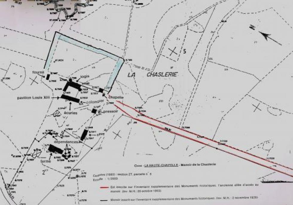 Plan annexé à l'arrêté de 1993.