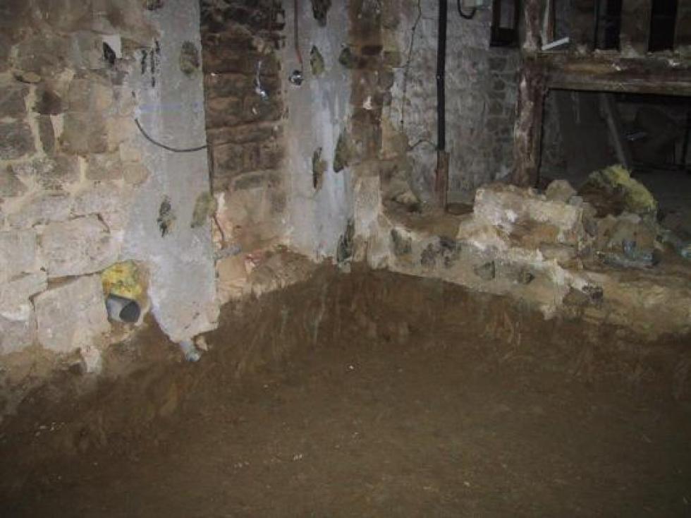 20 décembre 2006, le ménage tel que fait par Claude dans la partie de la ferme qui servait jusque là de logement.