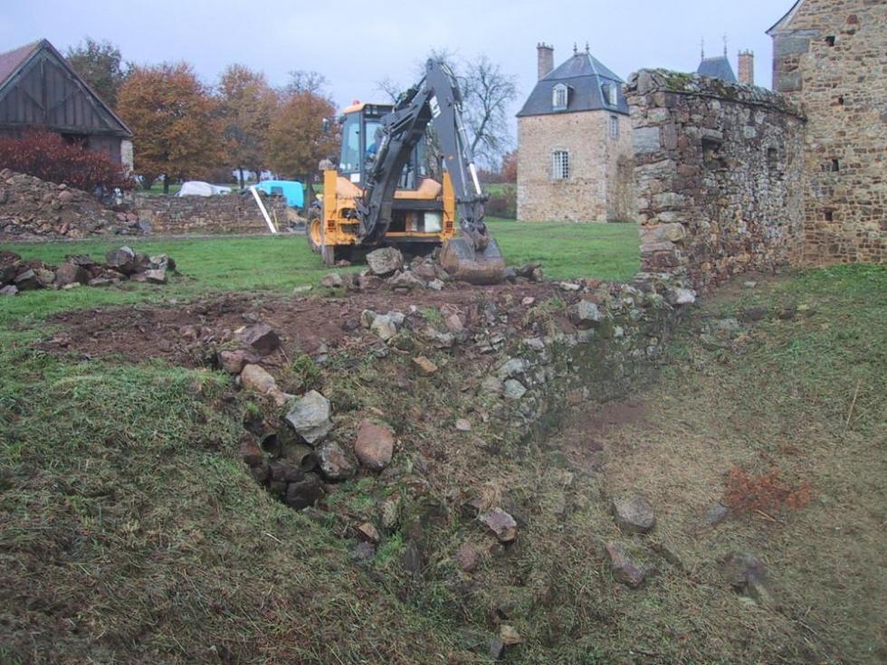 23 novembre 2007, le démarrage du chantier.
