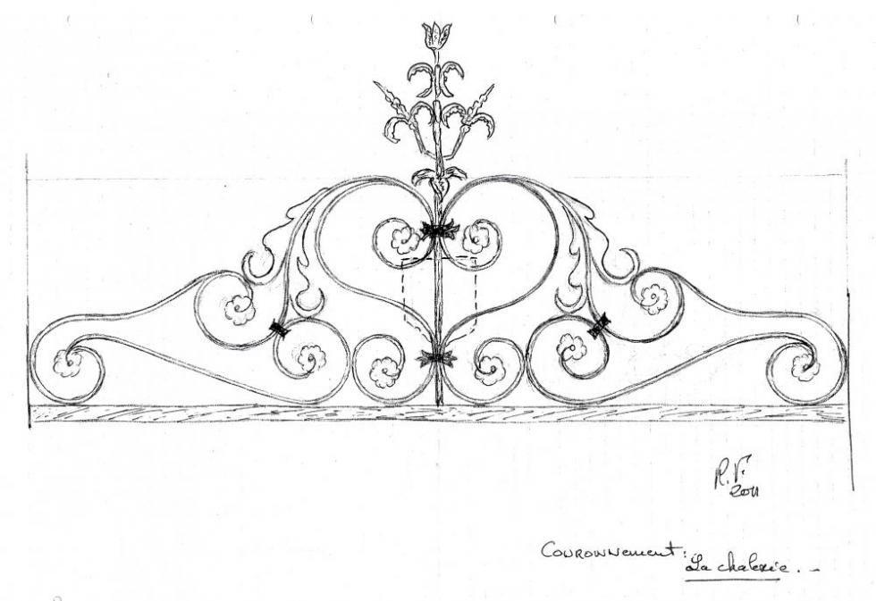 9 février 2011, le couronnement du projet de grille de Roland FORNARI.
