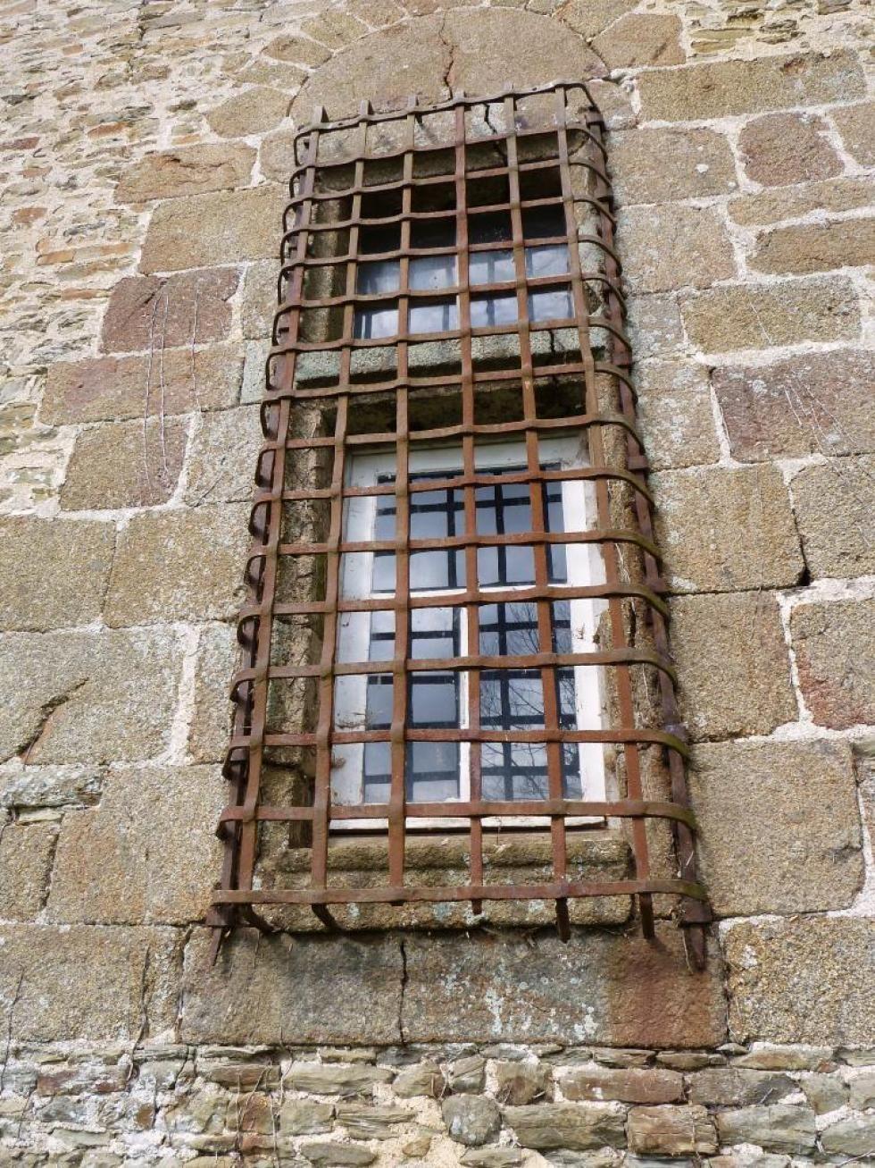 18 mars 2011, la grille de la façade arrière de Mebzon.