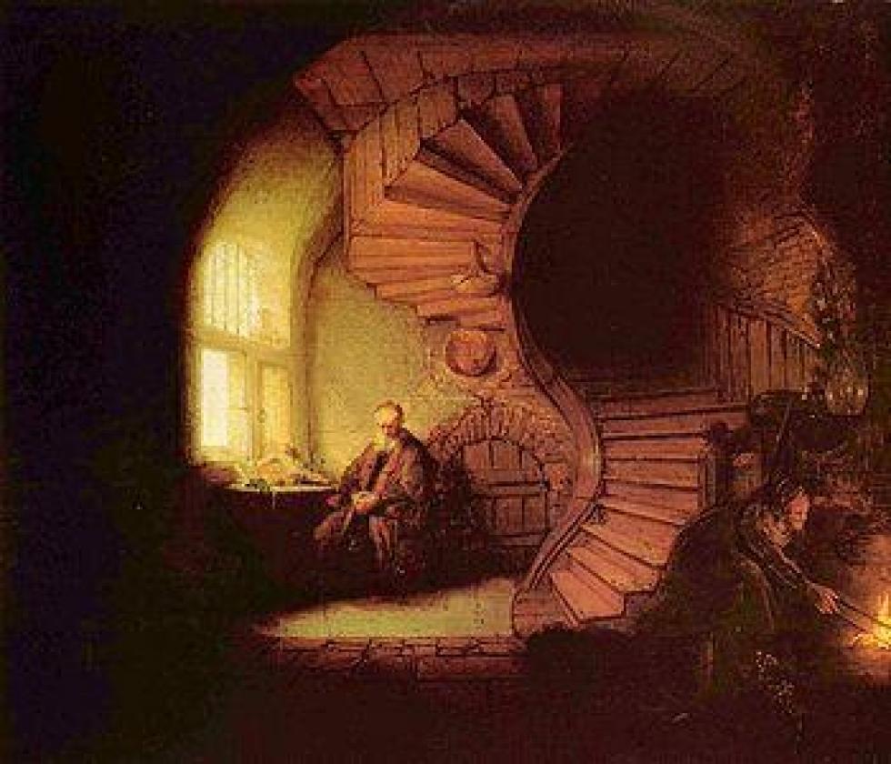 Le philosophe de Rembrandt.