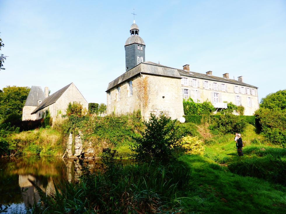 13 septembre 2014, château de Bois-André.