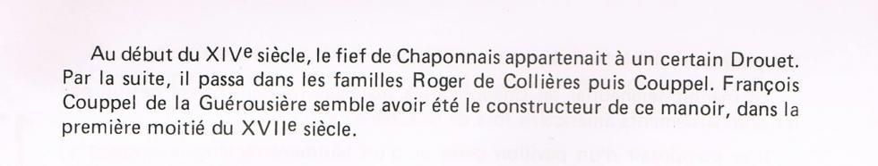 Chaponnais.