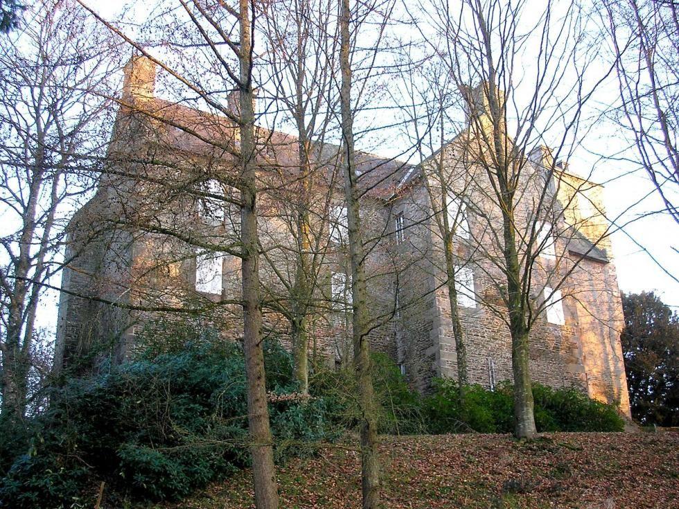 Le château de la Chaize.