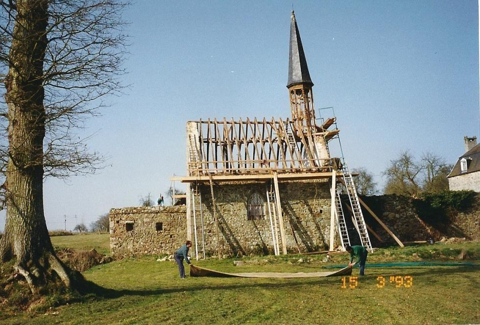 1993, la gîte du clocher dépassait 70 cm