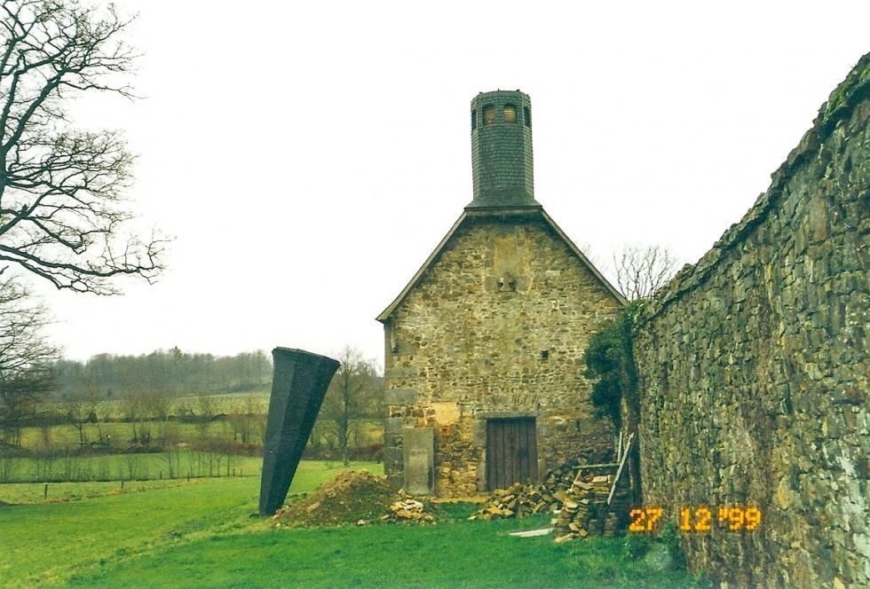 Tempête de 1999: le clocher a été transformé en cornet de glace