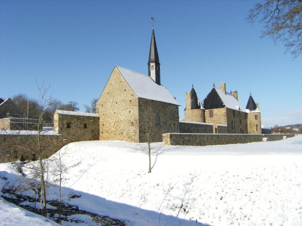 The chapel in winter