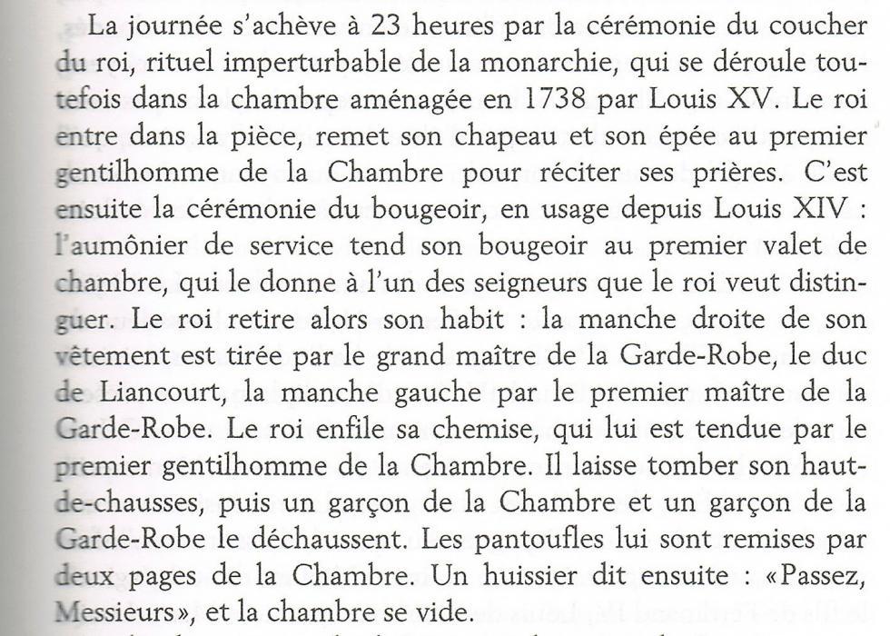 """Extrait de la page 31 de """"Les derniers jours de Versailles"""", par Alexandre MARAL."""