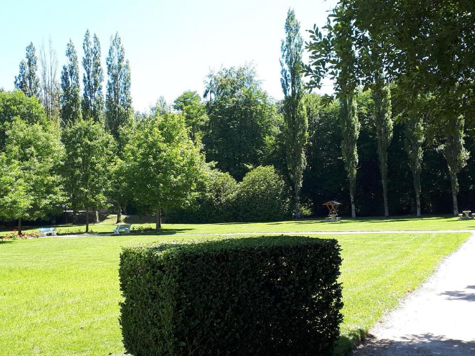 """Le """"Parc"""" à Bagnoles-de-l'Orne."""