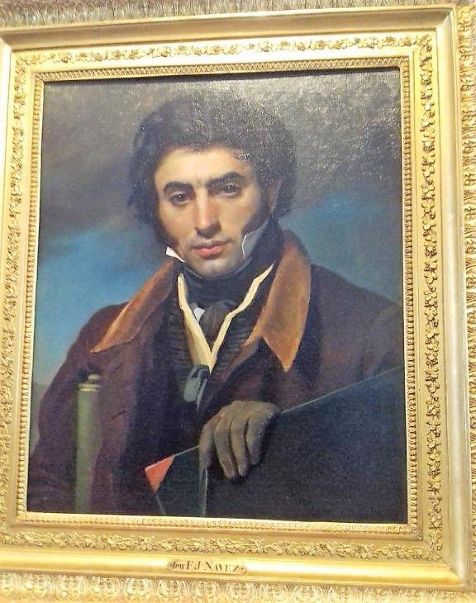5 juillet 2018, Jean-Victor SCHNETZ par François-Joseph NAVEZ (Charleroi 1787 - Bruxellres 1869), hst, 1820.