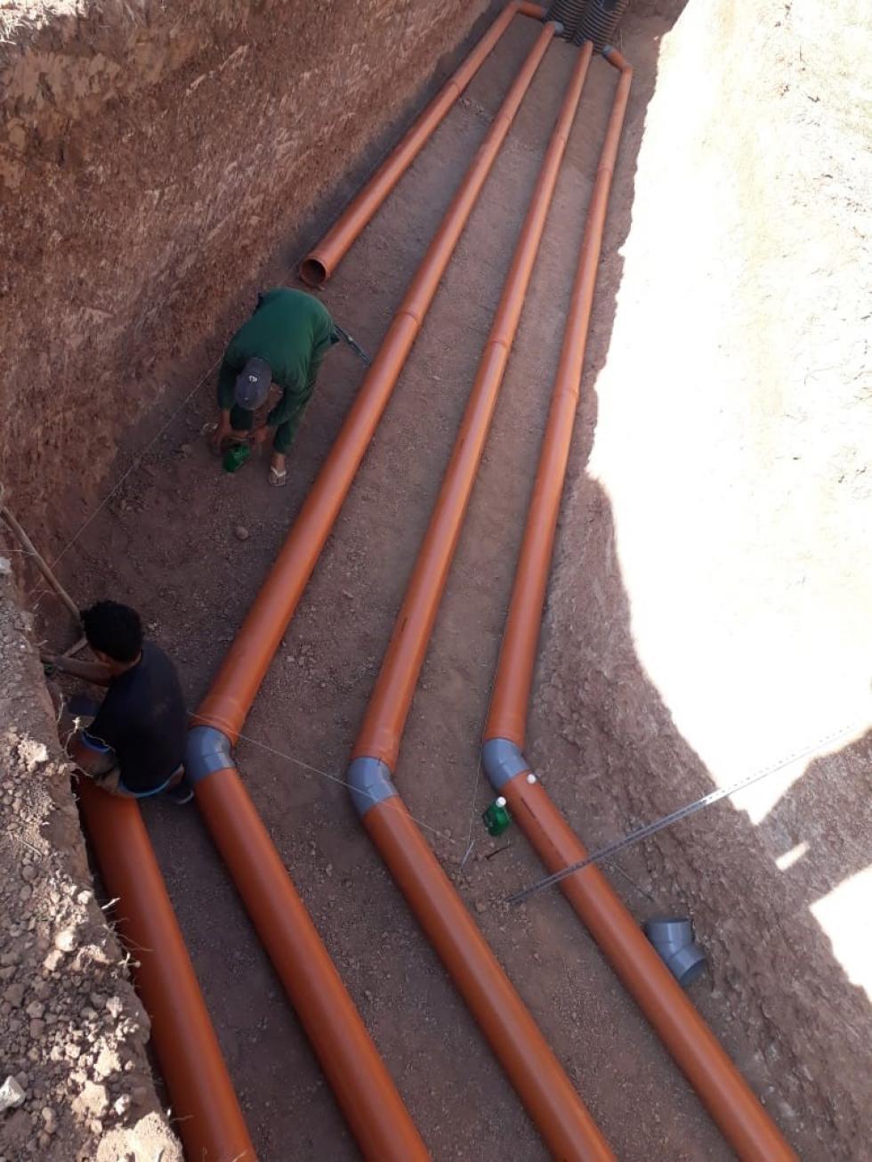 bâclée pipe tube
