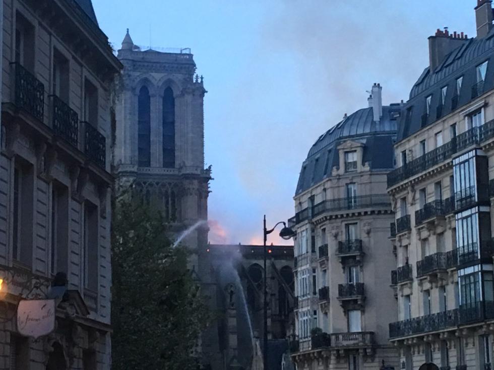 L'incendie de la cathédrale Notre-Dame de Paris - Photo: Didier Rykner