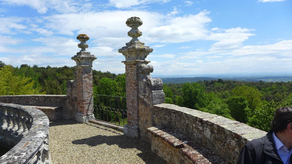 14 mai 2019, château de Celsa.