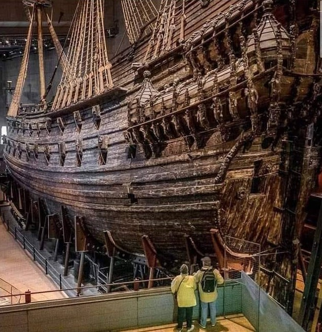 """Le """"Vasa""""."""