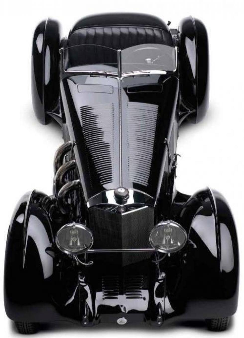 1930-Mercedes Benz SSK Comte Trossi.