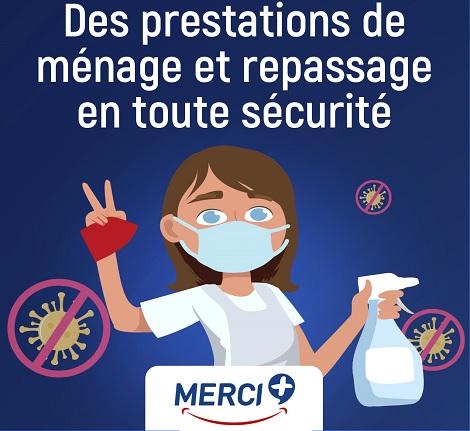 Coronavirus : protocole pour un ménage à domicile en toute sécurité.