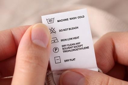 symboles lavage machine