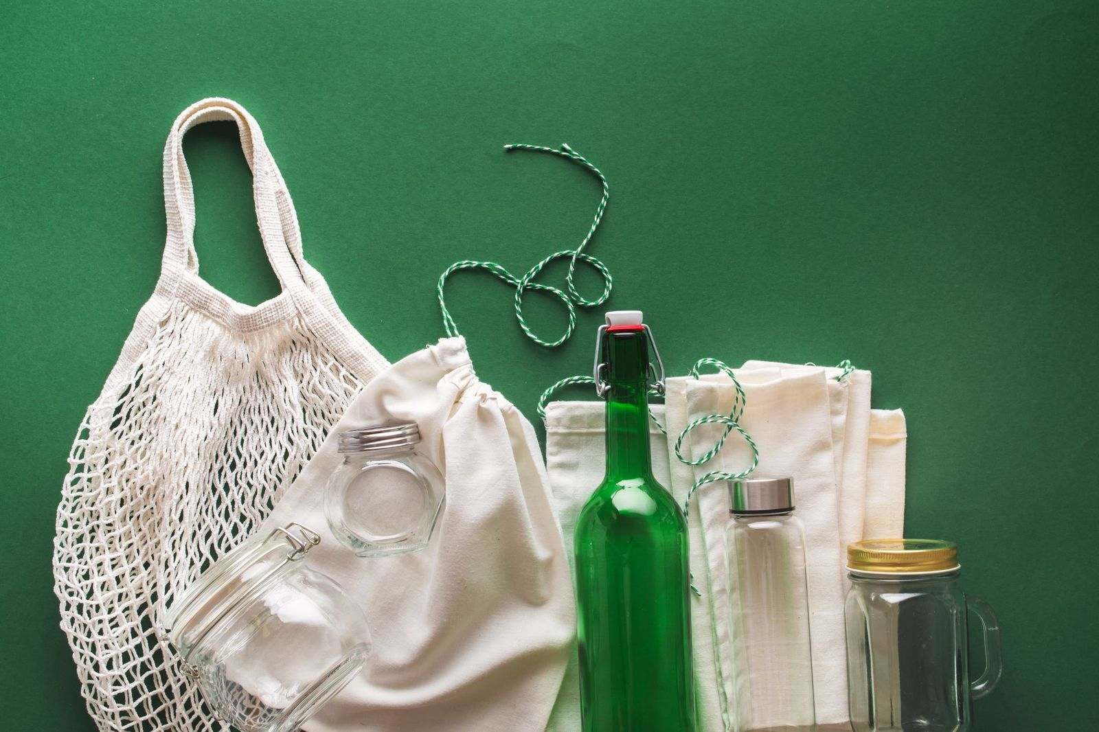 Sacs reutilisables en tissu - MERCI+