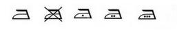 symboles repassage