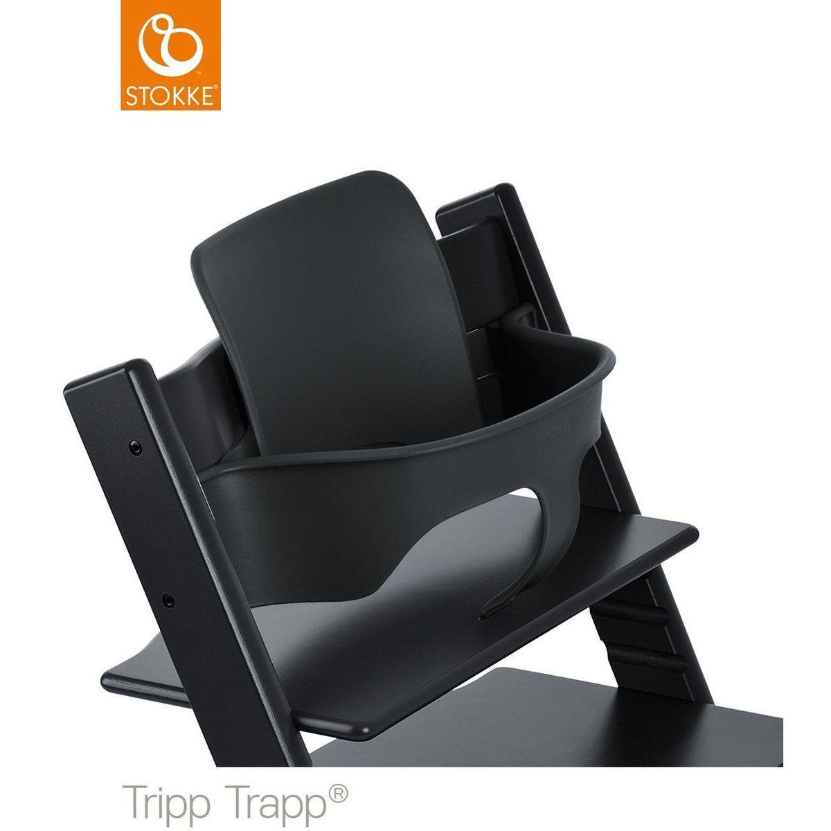 Chaise haute TRIPP TRAPP Stokke noir