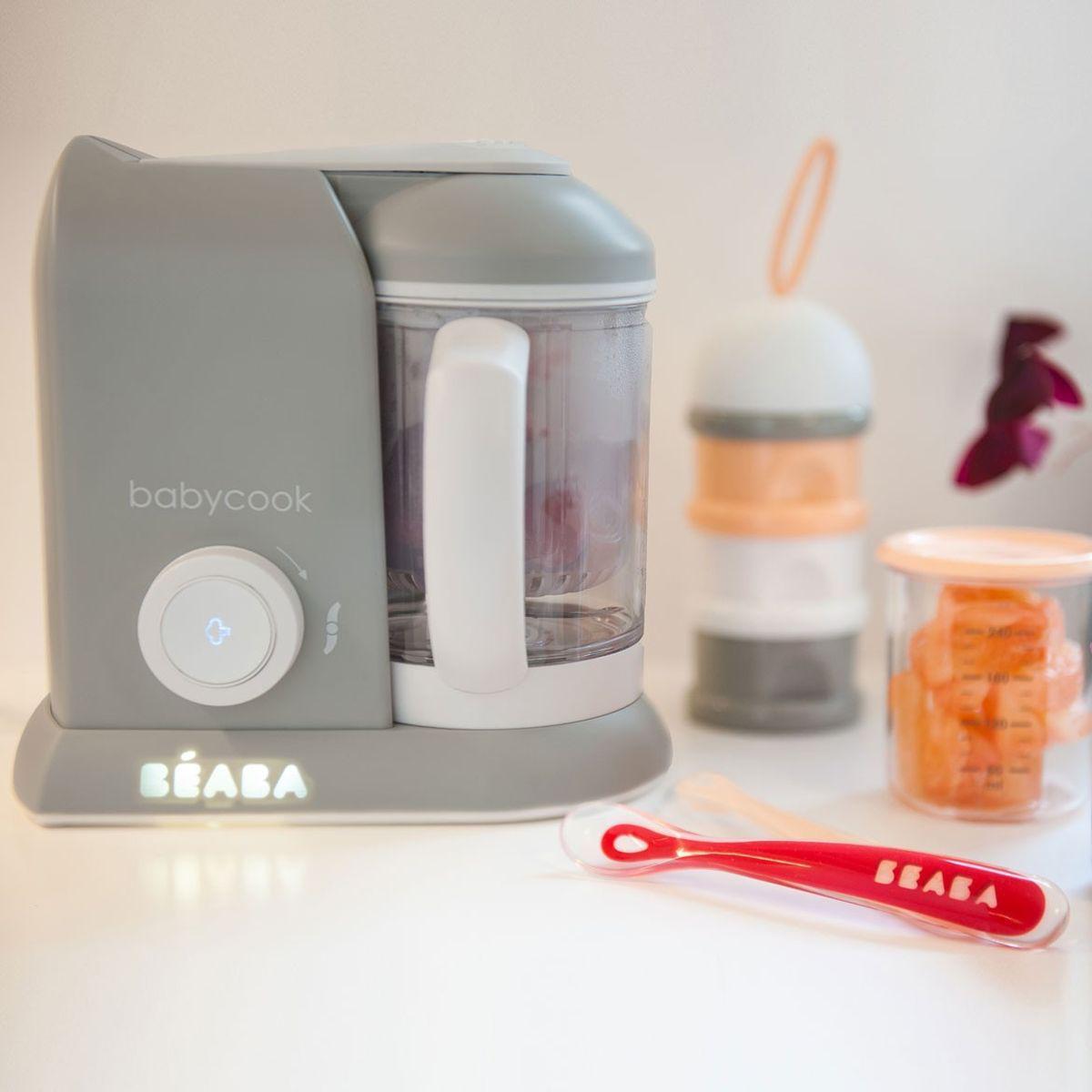 Robot cocina BABYCOOK SOLO Beaba gris