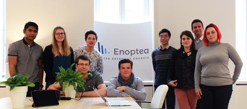 photo equipe Enoptea