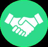 Icône conseil négociation