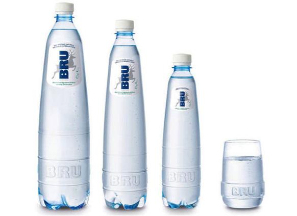 Bru bouteilles eau