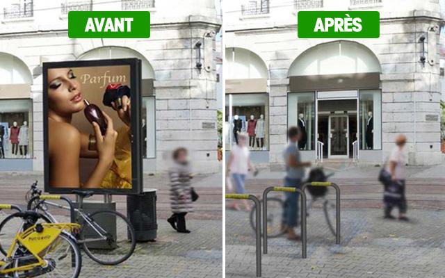 Grenoble sans publicités
