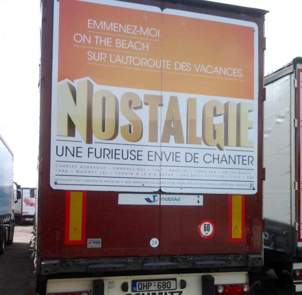 nostalgie radio camion