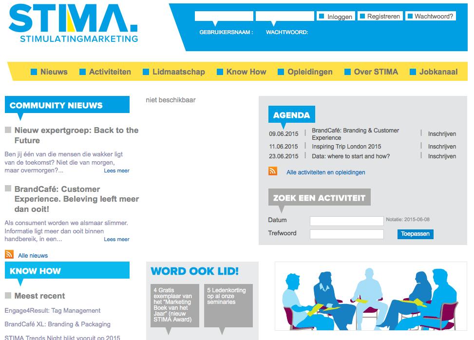 site web STIMA