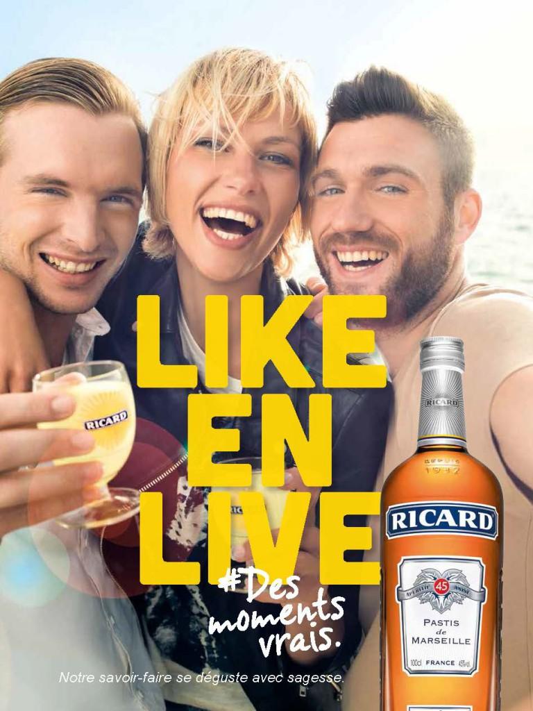 RICARD_Like en Live