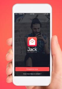 Jack, nouvelle messagerie mobile pas instantanée
