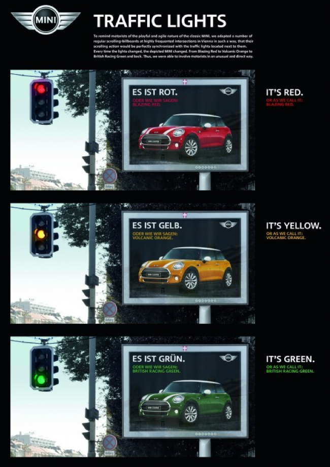 Mini trafic lights