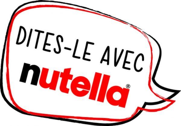 Dites le avec Nutella 2016