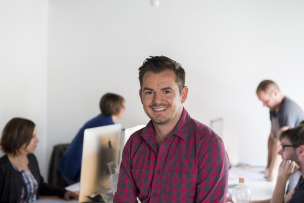 David Gavroy, le CEO de Noosphere, a des vues sur la Belgique