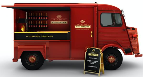 Piper-Heidsieck truck 2016