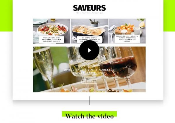 saveurs video-fr