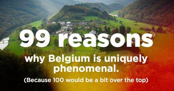 belgium uniquely phenomenal