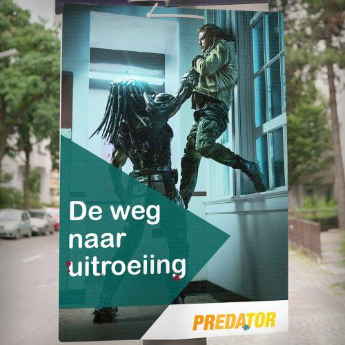 5228FOX_ThePredator_verkiezing posters - CD&V