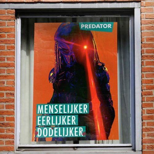 5228FOX_ThePredator_verkiezing posters - Groen